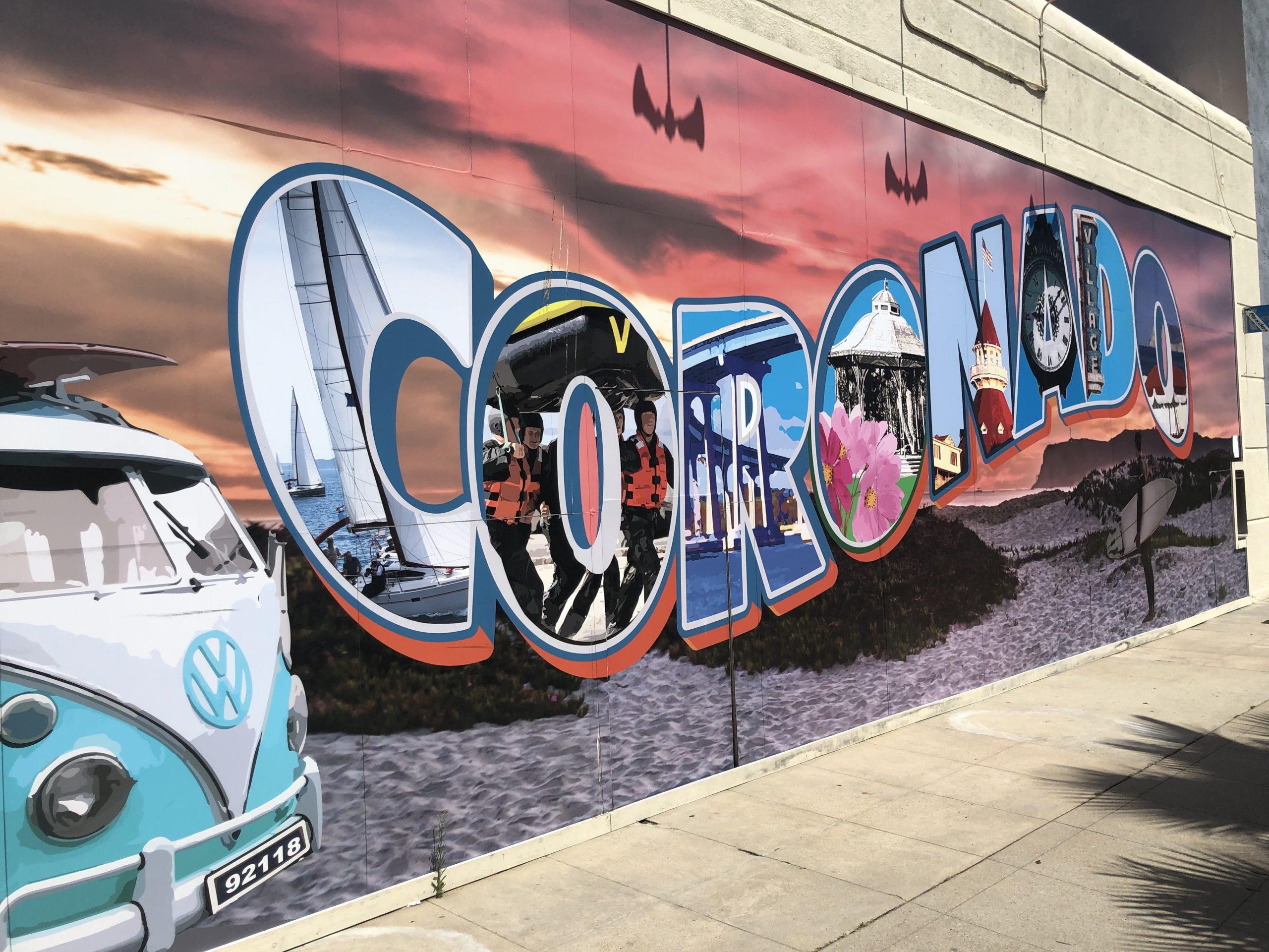 Coronado mural